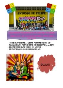 EXPOSICIÓN GRAFFITI POP DE ANTONIO DE FELIPE maracas